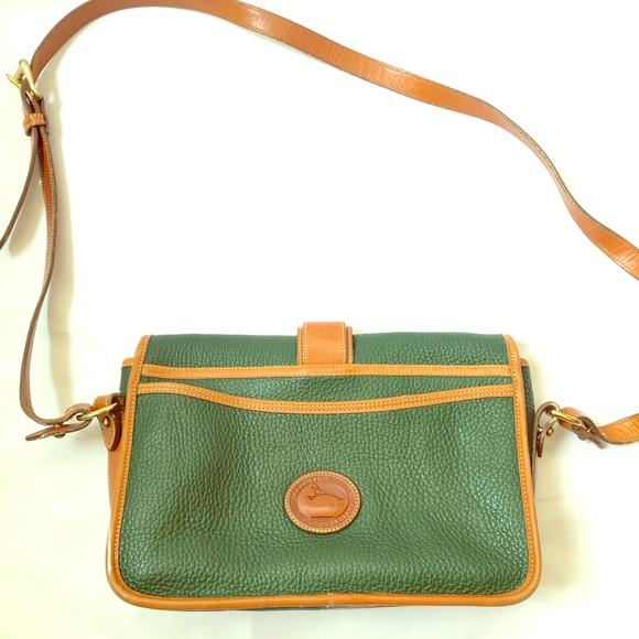 Dooney & Bourke Handbags - Dooney & Bourke Crossbody Purse Forrest Green